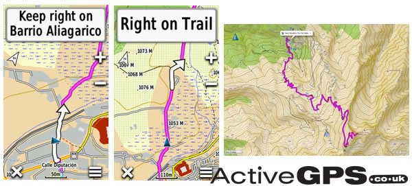 TOPO Spain v6 PRO screen shots
